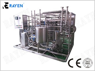 Milk Pasteurization Machine