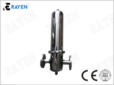 Single Cartridge Steam Gas Filter